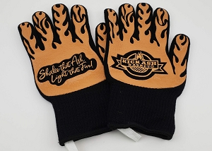 Kick Ash Basket Heat Resistant Gloves