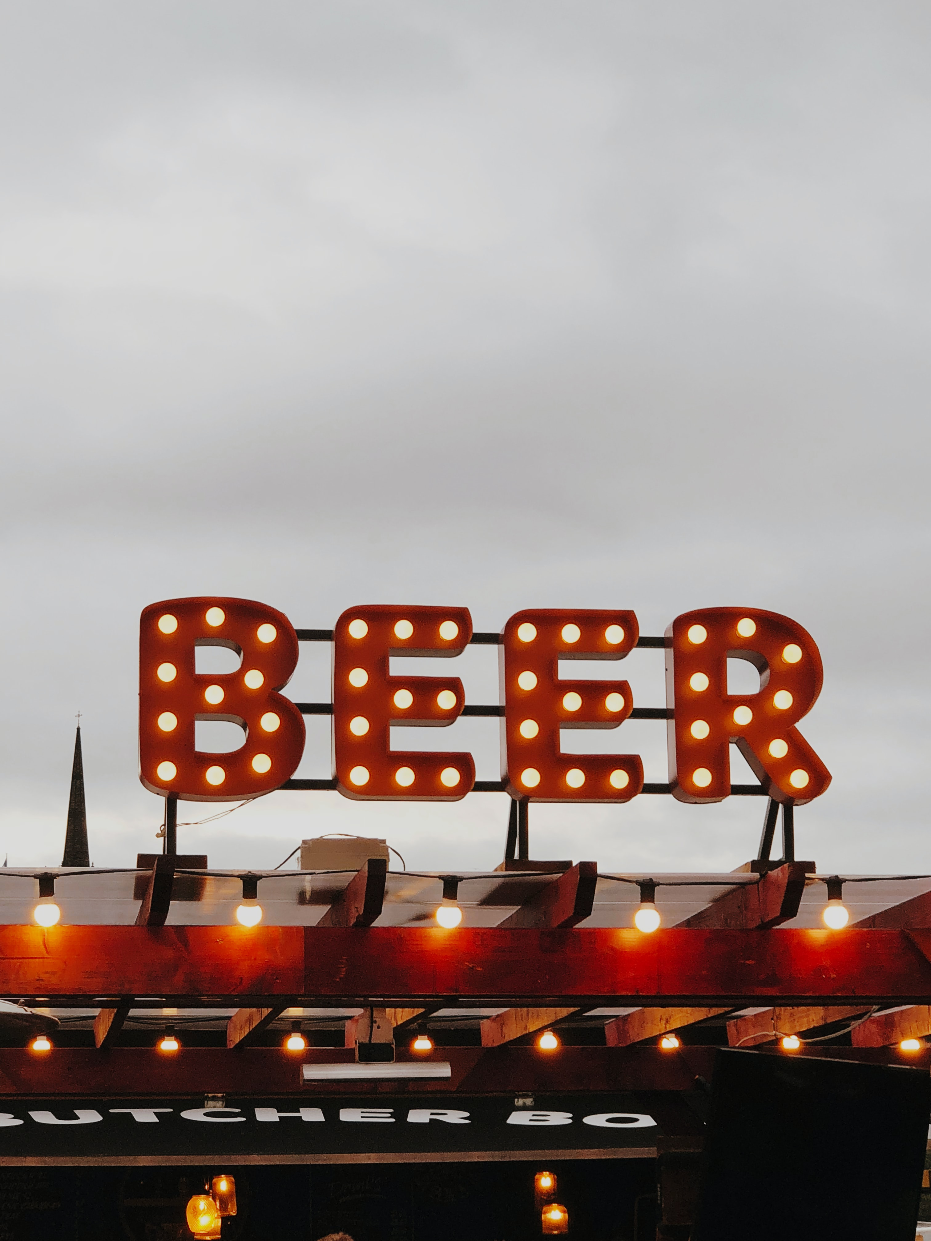 image of a beer billboard