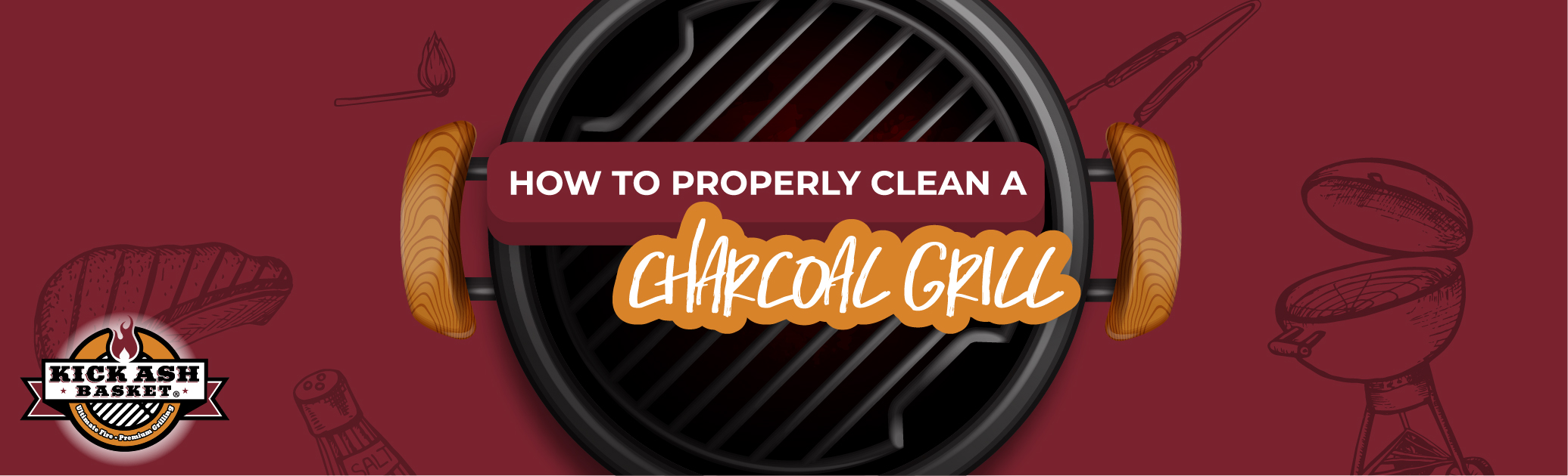How to Properly Clean a Charcoal Grill
