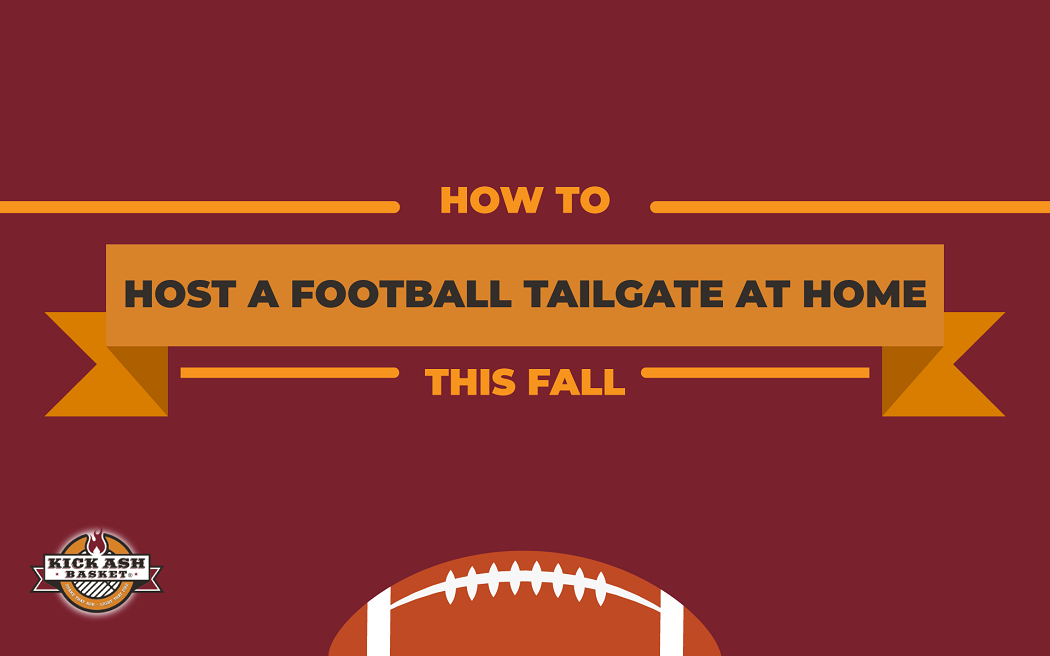 How to Host a Football Tailgate at Home This Fall