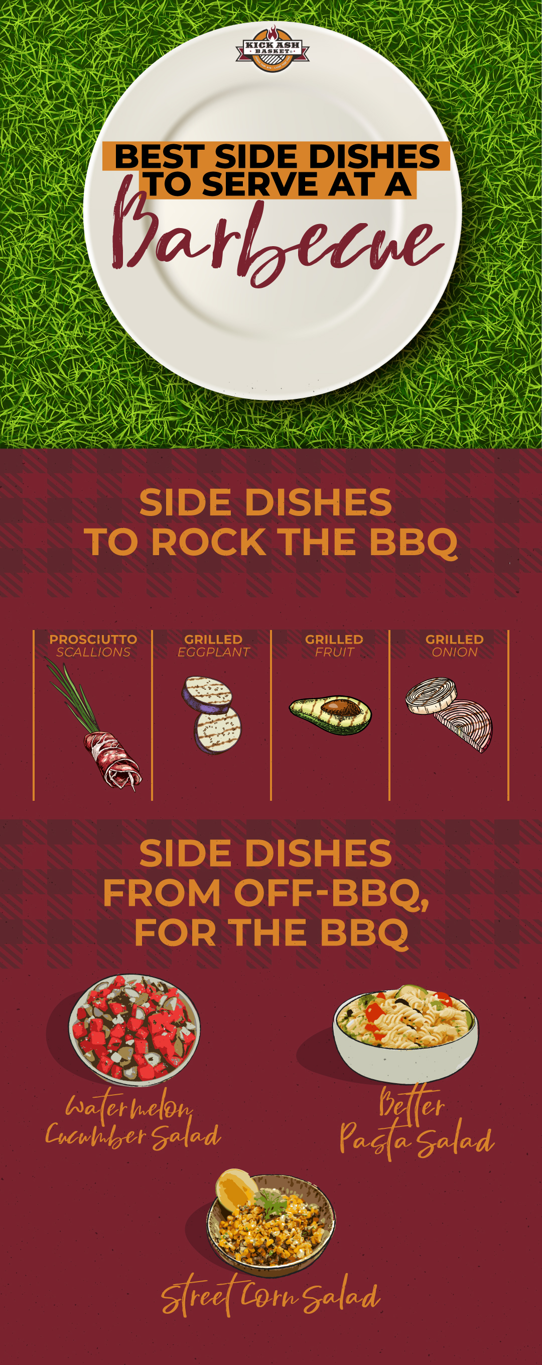 Side Dishes from Off-BBQ, for the BBQ