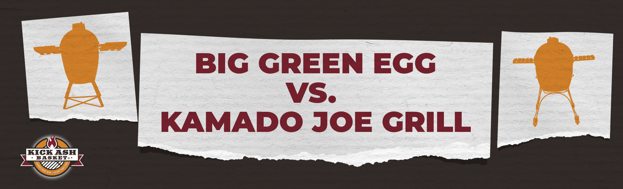 Big Green Egg vs. Kamado Joe Grill