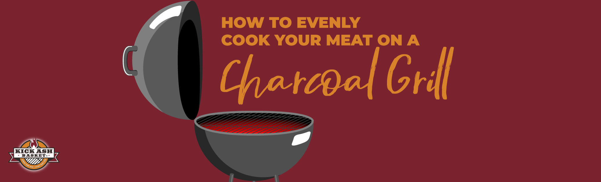 How to Evenly Cook Your Meat on a Charcoal Grill
